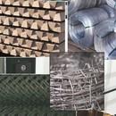 Vadháló Drótfonat drótháló Huzal Kerítés Oszlop Építés Szögesdrót Kerítésoszlop fotó