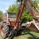 Jumz EO árokásó traktor alkatrészek fotó
