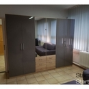 Új állapotú 6 hónapos német 6 ajtós tükrös szekrény fotó