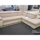 Reggió sarok kanapé ülőgarnitúra Nova Penta szövetből jobbos 310x250 cm ágyazható ágyneműtartós fotó