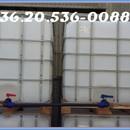 IBC tartály eladó: gázolajjal hasonló anyaggal volt töltve előzőleg. +36.30.3294850 fotó