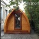 Minőségi szigetelt kerti faház igényeseknek, akár nyaralónak is tökéletes fotó