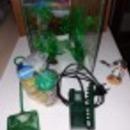 10 literes akvárium szett fotó