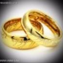 A Gyűrűk Ura Egy gyűrű One Ring gyűrű arany színű fotó