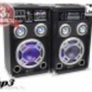 Skytec KA-06 2x200w aktív karaoke hangfalpár+GARI* fotó