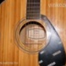 Yamaha FG-B1N akusztikus western bambusz Jumbo testű gitár fotó