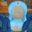 Etetőszékhuzat bármilyen székbe impregnált anyag. fotó