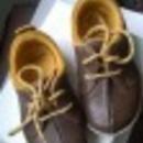 Clarks 22-es fiú, bőr cipő fotó