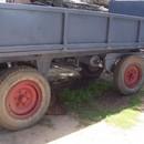 Pótkocsi 4 tonnás lengyel fotó
