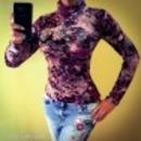 Amnesia virágmintás őszi pulcsi fotó