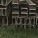 Kompozit gerenda istálló, szín, gazdasági épület építéséhez fotó