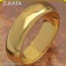 Arany filled mese szép eljegyzési karika 20 mm gyűrű fotó