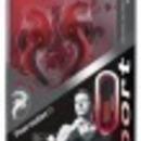 Új! JVC piros sport fülhallgató, vízálló, távirányító és mikrofon, JVC HA-ETR40-R. fotó