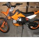 KXD607 gyerek motor, 4 sebességes, narancssárga fotó