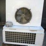 MISA hűtőkamra mobil panelekből épitett MISA monoblokkos aggregáttal eladó. fotó