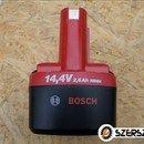 Bosch 14, 4V / 2, 6Ah-s ipari NiMh szerszámgép akkumulátor fotó