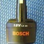 Bosch 18V / 1, 5Ah-s szerszámgép akkumulátor fotó
