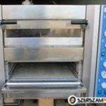 Pizzakemence ipari pizzasütő KRONUS kétaknás belső 600x900 újszerű állapotban eladó. fotó