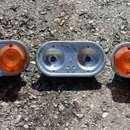 Zsuk (Żuk) kisteherautó lámpák, újszerű állapotban fotó