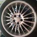 Threeface 5x108 17 alufelni michlen és pirelli nyári gumikkal fotó