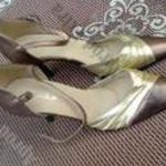 EMI eredeti bőr 39-es szandál cipő 8 cm sarok - teljesen használatlan fotó