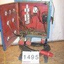 1495 - Villamos elosztó szekrény kalocsaszekrény fotó