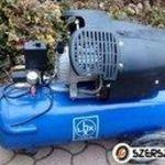 LUX kéthengeres olajos 10 báros kompresszor fotó
