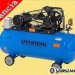 """""""Hyundai HYD-200L/V3 Kompresszor 200 literes tartály, 12, 5 bár, 3000 W, 380 V"""" fotó"""
