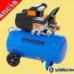 """""""Hyundai HYD-50 Kompresszor 50 literes tartály, 8 bár, 1500 W"""" fotó"""