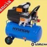 """""""Hyundai HYD-24 Kompresszor 24 literes tartály, 8 bár, 1500 W"""" fotó"""