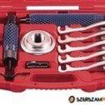 Univerzális hidraulikus kerékagy és lánckerék-fogaskerék lehúzó készlet, 5 körmös, 12t fotó