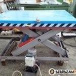 hidraulikus emelőasztal Pfaff 1500 kg thr 1500x1700mm / ollós emelőasztal /ct434/ fotó