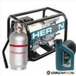 HERON EMPH 80WG Benzin-gázmotoros zagyszivattyú, motoros szivattyú, vízszivattyú fotó
