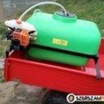200 liters saját motoros permetezőgép rotációs kapához vagy fűnyírótraktorhoz fotó