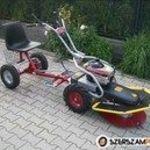 Dakr panter FD-2 hydro professzionális egytengelyes traktor !!! fotó