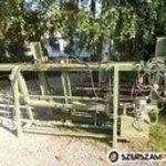 faipari keretprés táblásító hidraulikus présgép prés tömbösítő fotó