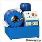 OP H83E EL elektromos tömlőprés, tömlőroppantó, hidraulika tömlő gyártó gép fotó