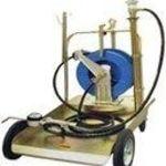 Pneumatikus csévélődobos olajfeltöltő kocsi (olajpumpa), 220kg-os hordóhoz (1700233) fotó