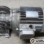 hajtóműves villanymotor 0, 75kw ford 200/min hajtómű eladó/ct311/ fotó