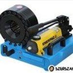 P16 HM POWER manuális tömlőprés, tömlőroppantó, hidraulika tömlő gyártó gép fotó