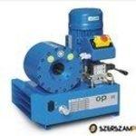 O+P H47E EL elektromos tömlőprés, tömlőroppantó, hidraulika tömlő gyártó gép fotó