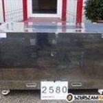 2580 - Rozsdamentes saválló. nemesacél polc szekrény gurulós kocsi fotó