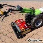 13 le-s MGM FC130 HONDA ipari kivitelű síkelőkészítő-forgóboronás egytengelyes kistraktor fotó