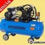 """""""Hyundai HYD-100L/V2 12, 5 bar Kompresszor 100 literes tartály, 12, 5 bár, 2200 W"""" fotó"""