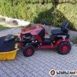 16 LE-s Briggs motoros, Panter FD-5 fűkaszáló traktor, cseh gyártmány! fotó