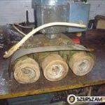 faipari előtoló 3 kerekes marógép előtológép HOLZHER fotó