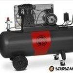 Chicago Pneumatic ipari dugattyús kompresszor 200 L tartállyal ! fotó