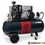Chicago Pneumatic ipari dugattyús kompresszor 150 L-es tartállyal Akcióban! fotó