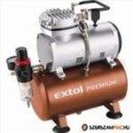 Extol Prémium olajmentes légkompresszor, 230V/150W, 6 bar, 23 l/perc, 3l tank (8895300) fotó