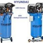 Eladó új Hyundai ÁLLÓ 100 l kompresszorok fotó